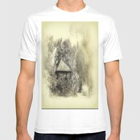 Sommerlaube Mens Fitted Tee White SMALL