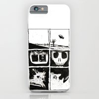iPhone & iPod Case featuring Death by Lee Grace Illustration