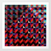 Unreleased Pattern #6 Art Print
