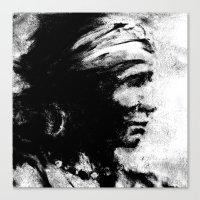 Stark - Native American … Canvas Print