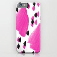 Purple Brush Pattern 2 iPhone 6 Slim Case