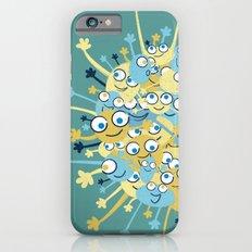 Bubbly Creatures Print iPhone 6 Slim Case