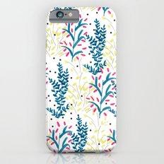 bright flowers. Illustration, pattern, flowers, floral, print,  Slim Case iPhone 6s