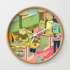 eating at johnny´s Wall Clock