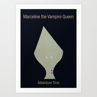 Adventure Time Marceline Art Print