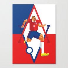 AV23 | La Roja Canvas Print