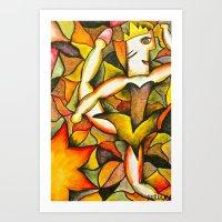 Dancer- Change Of Season… Art Print