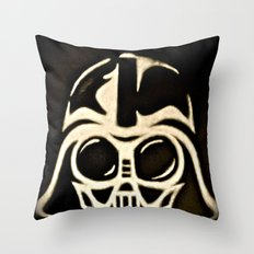 Baby Vader Throw Pillow