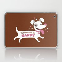 Dog Kisses Laptop & iPad Skin