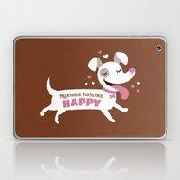 Dog kisses Laptop & iPad Skin