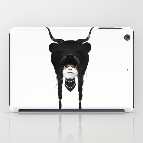 Bear Warrior iPad Case
