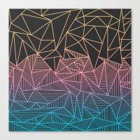 Brody Rays Canvas Print