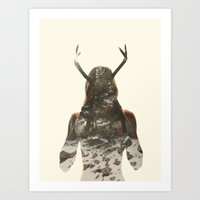 Natural habitat Art Print