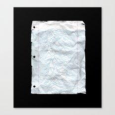 UNKNOWN PAPER Canvas Print