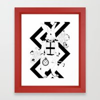 Alice In Wonderland Seri… Framed Art Print