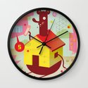 Benny's Lunch Simulation Wall Clock