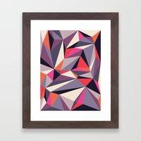 Diamonoid: Autumn Soiré… Framed Art Print