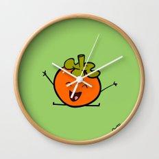 Persimmon Wall Clock