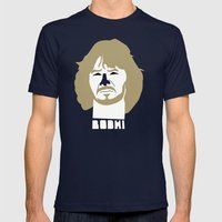 Bodhi Mens Fitted Tee Navy SMALL