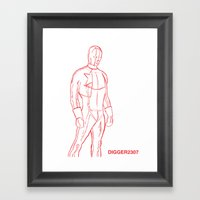 Supersketch Framed Art Print
