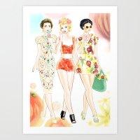 Dolce & Gabbana SS12 Ill… Art Print