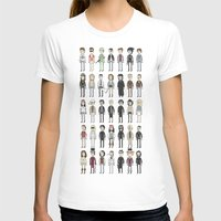 Depps Womens Fitted Tee White SMALL