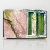 Old green window iPad Case