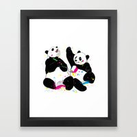 Colorful Life Framed Art Print