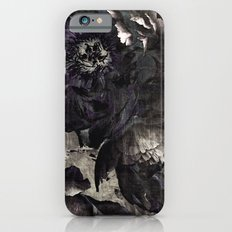 goth peony Slim Case iPhone 6s