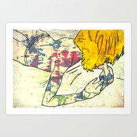 X-Girl. Art Print