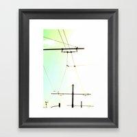 Connected Framed Art Print