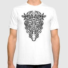 Virgo Mens Fitted Tee White SMALL