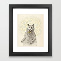 Smarter Than The Average… Framed Art Print