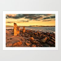 Taw Torridge Estuary Art Print
