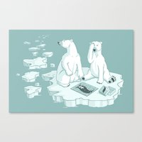 This Keeps Happening Canvas Print