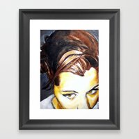 Michelle Framed Art Print