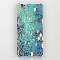 Dance Your Fears Away iPhone & iPod Skin