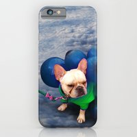 iPhone & iPod Case featuring Up in the Clouds by Alev Takil