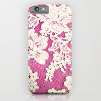 Pink Lace-photograph Of … iPhone 6 Slim Case