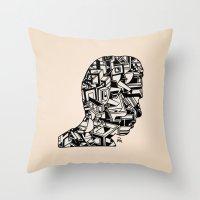 Self Portrait PM Throw Pillow