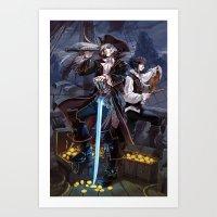 VAMPIRATES Art Print