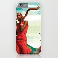 Poster Afryka! iPhone 6s Slim Case
