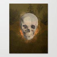 Field of Nightmares Canvas Print
