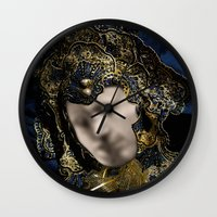 MASK OF LOVE (read the description to understand the trick) Wall Clock