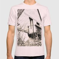 Ghosthouse Mens Fitted Tee Light Pink SMALL