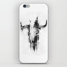 Bull Skull iPhone & iPod Skin