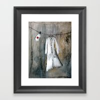 Nurse Framed Art Print