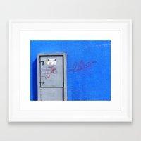 415 Volts Framed Art Print