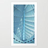 Quadracci Pavilion MAM  Art Print