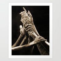 Quest For Light #2 Art Print
